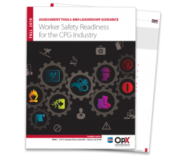Worker Safety Readinessfor the CPG Industry